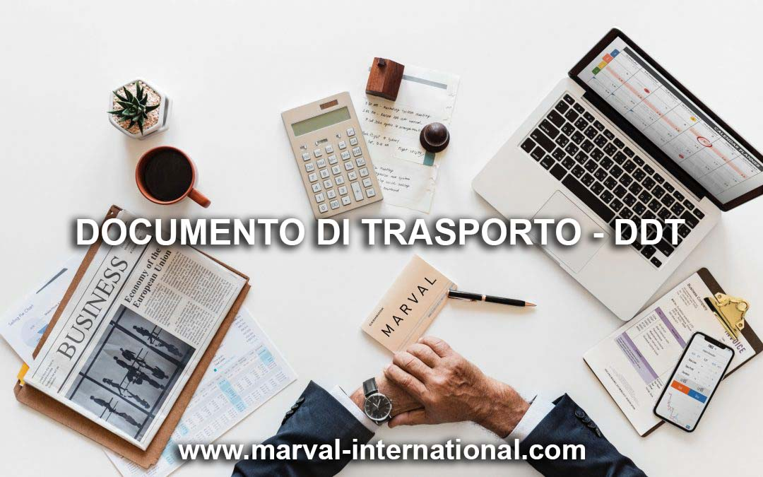 Documento di trasporto DDT / Bolla di accompagnamento